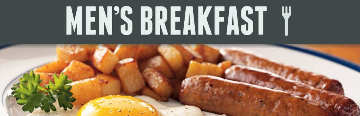 Men's Breakfast Slide Show Banner