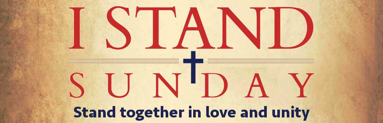 I Stand Sunday Slid Show Banner