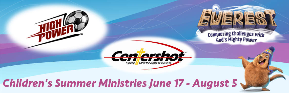 2015 Summer Kids Ministries Banner