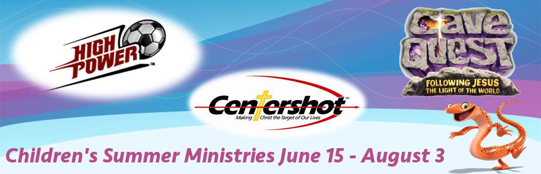 2016 Summer Kids Ministries Banner